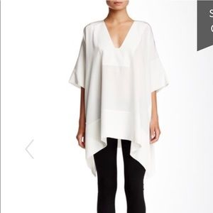 Vince Silk Poncho Top